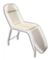 Cadeira de estética facial 3 posicoes